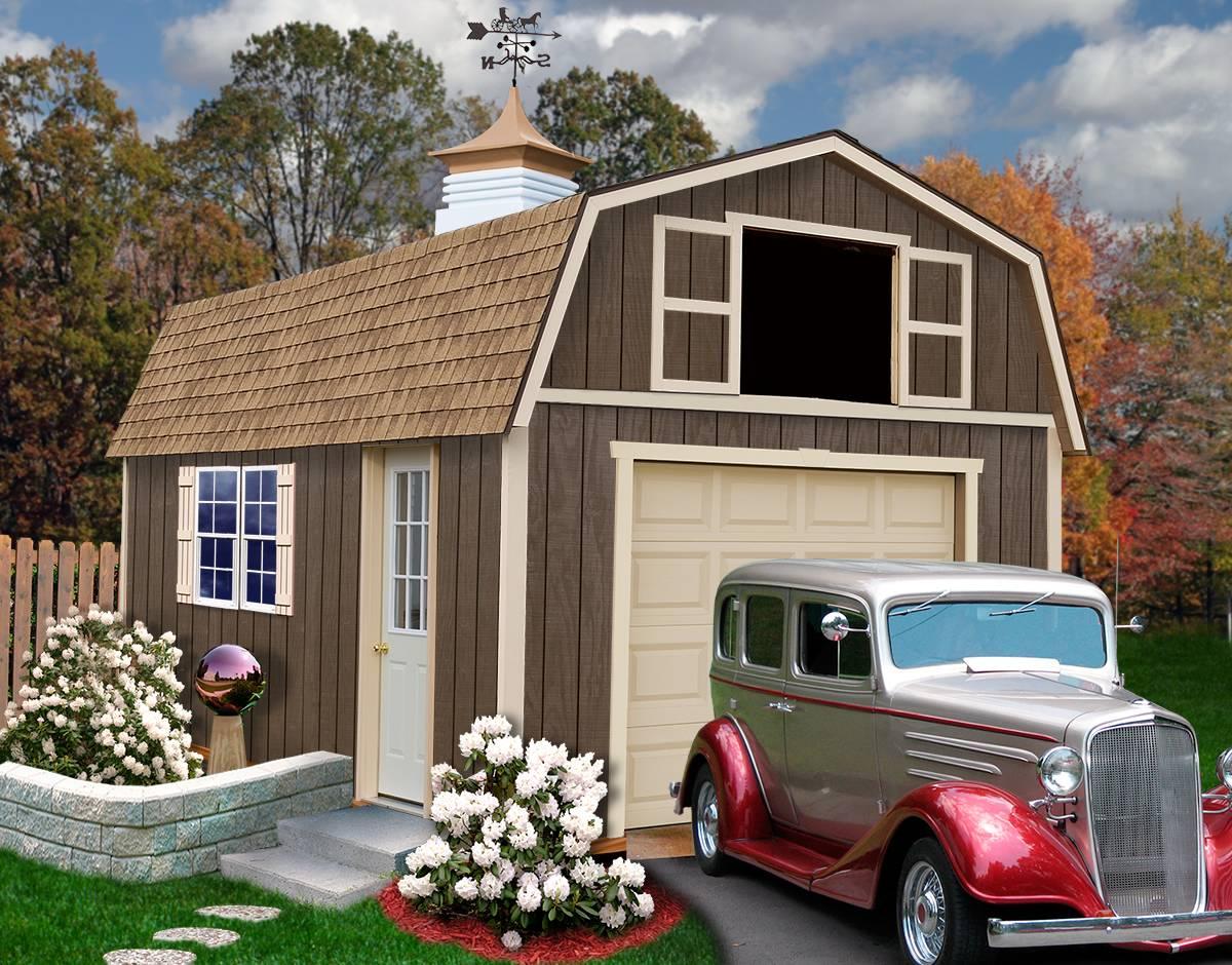 Tahoe Garage Kit Wood Best Barns