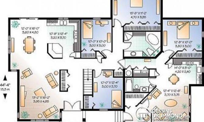 Tail Plan Maison Multi Logements