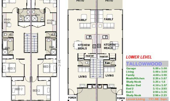 Tallowwood Duple House Plans Custom
