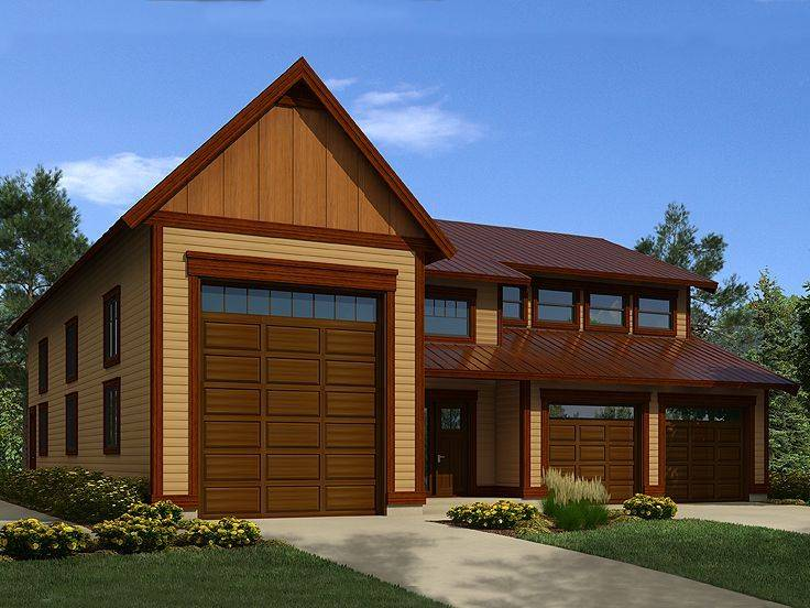Tandem Garage Floor Plans Pinterest