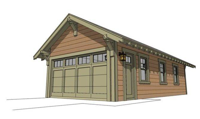 Tandem Garage Plans Four Car Plan