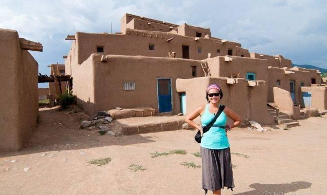 Taos Pueblo Thousand Year Old Adobe Architecture