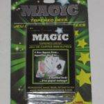 Tapered Deck Magic Cards Card Tricks Close Utility Prop Street
