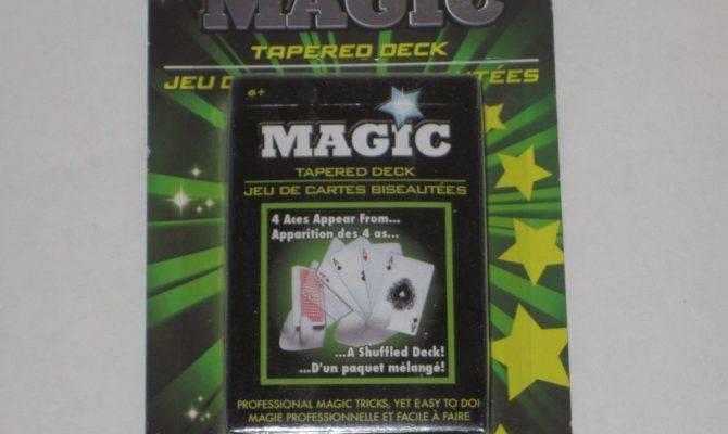Tapered Deck Magic Cards Card Tricks Close Utility Prop Street