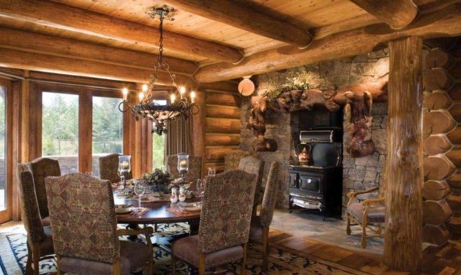 Teton County Wyoming Log Home Precisioncraft