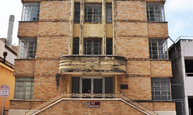 Texas Art Deco Streamline Moderne Buildings