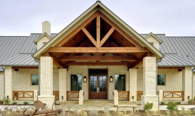 Texas Hill Country Retreat Rustic Exterior Dallas