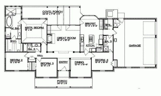Texas Ranch House Floor Plans Fresh Eplans