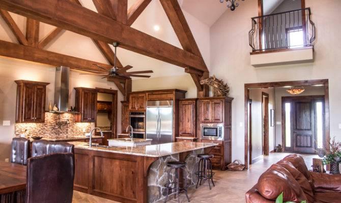 Texas Ranch House Kitchen