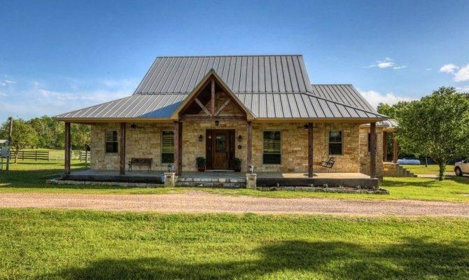 Texas Ranch House Plans Simple Elegant Design