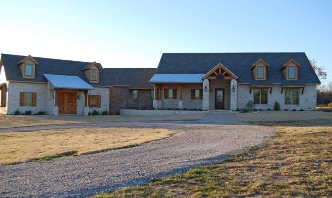 Texas Ranch Style Custom Home Steed Homes