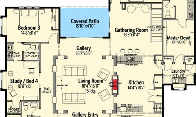 Texas Style Ranch Floor Master Suite