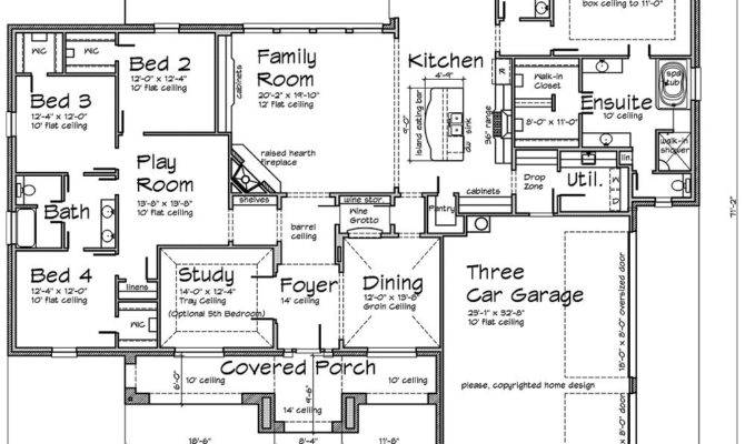 Texas Tuscan Design House Plans Over