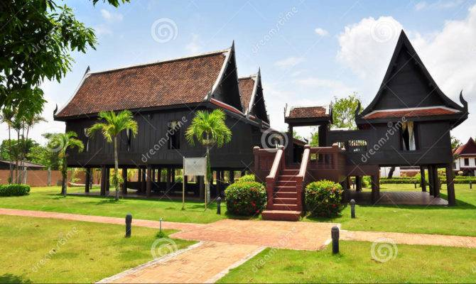 Thai House Traditional Style Thailand