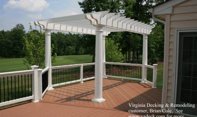 These Tapered Vinyl Columns Structural They Support