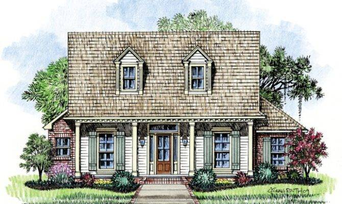 Thomas Acadian House Plans Cottage Home