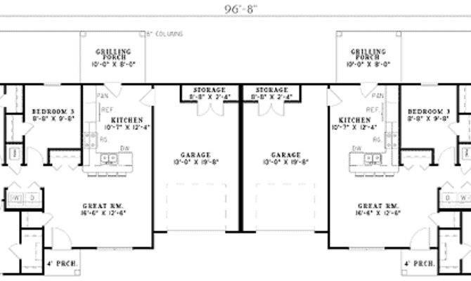 Three Bedroom Duplex Architectural Designs