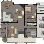 Three Bedroom House Floor Plans Small