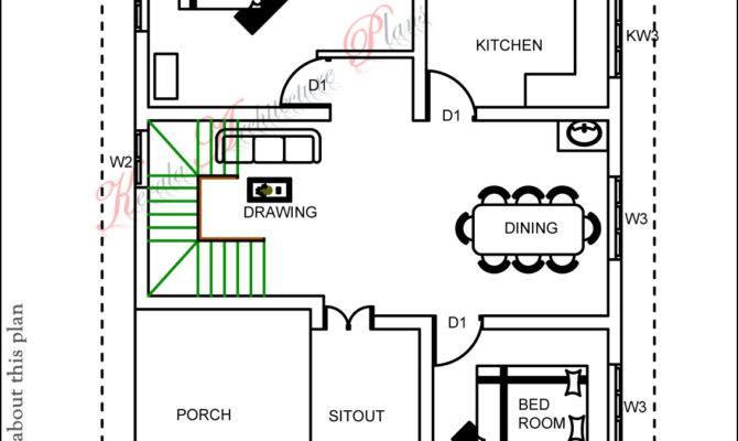 Three Bedroom House Plan Architecture Kerala