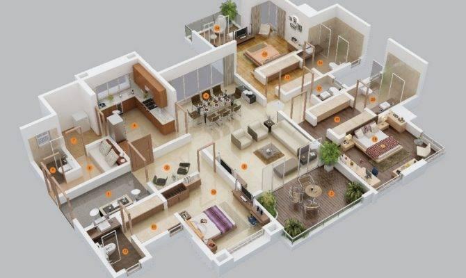 Three Bedroom Layout Astin Studios Turns Largest