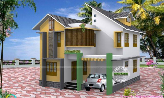 Three Bedroom Small Home Cents Design Simple