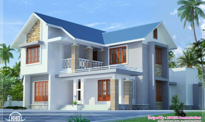 Three Fantastic House Exterior Designs Kerala Home