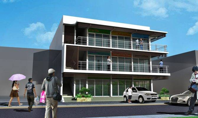 Three Storey Residential Building Designs Amazing Decors