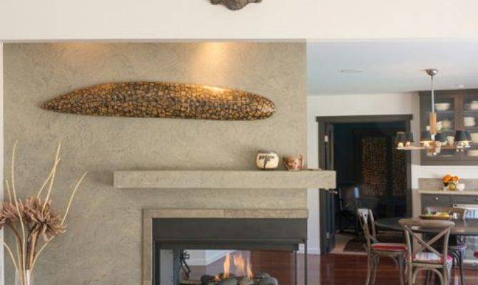 Three Way Fireplace Ideas Remodel Decor