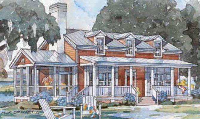 Tidewater Cottage Open Floor Plan Pinterest Home Decor