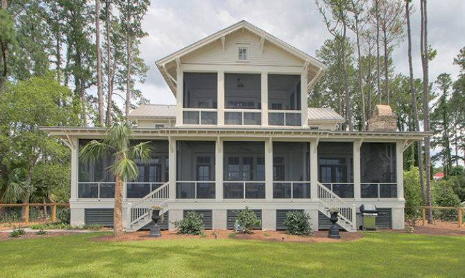 Tidewater Low Country House Plans Southern Living