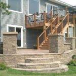 Tier Deck Patio Under Landscaping Pinterest