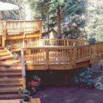 Tiered Deck Home Pinterest
