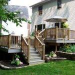 Tiered Deck Porch Patio Trellis Etc Pinterest