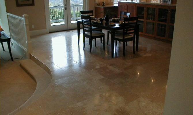Tile Flooring Ideas Dining Room Photos