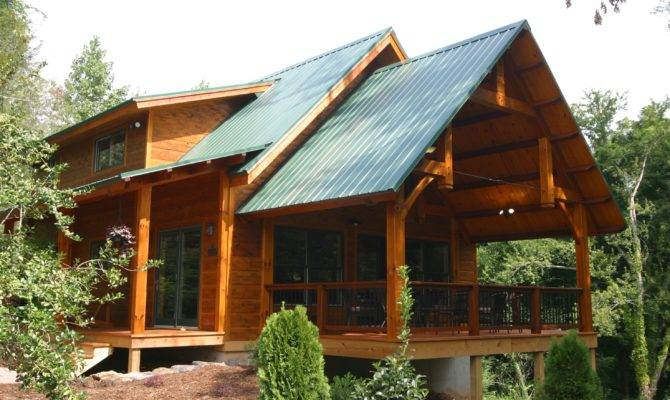 Timber Frame Front Porch Plans