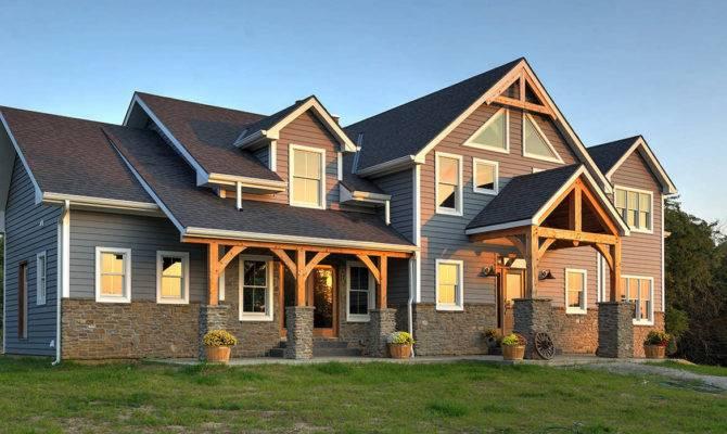 Timber Frame Homes Plans Quebec House Design