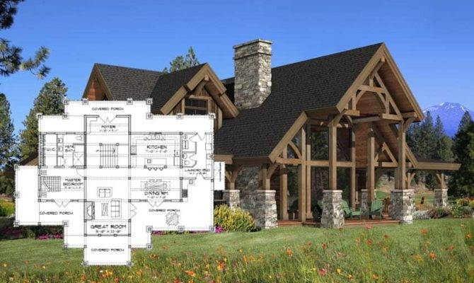 Timber Frame Homes Precisioncraft Post