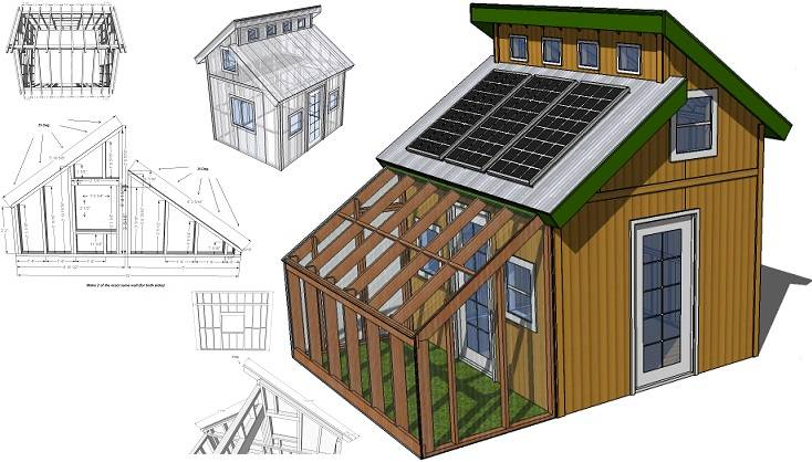 Tiny Eco House Plans Off Grid Sustainable Houses