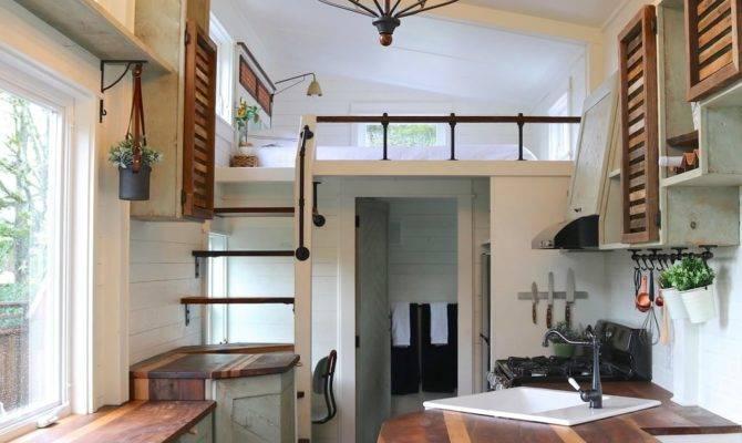 Tiny Farmhouse Loft Bedroom Popsugar Home