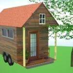 Tiny House Design Box Gable Roof