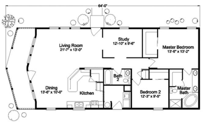 Tiny House Floor Plan Two Bedrooms Complete Bathroom