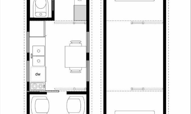 Tiny House Floor Plans New Ricochet Small