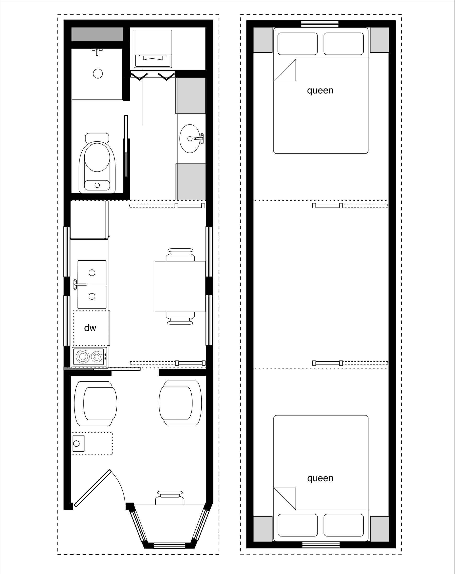 Tiny House Floor Plans New Ricochet Small