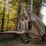 Tiny House Looks Like Only Roof But Inside Whoa