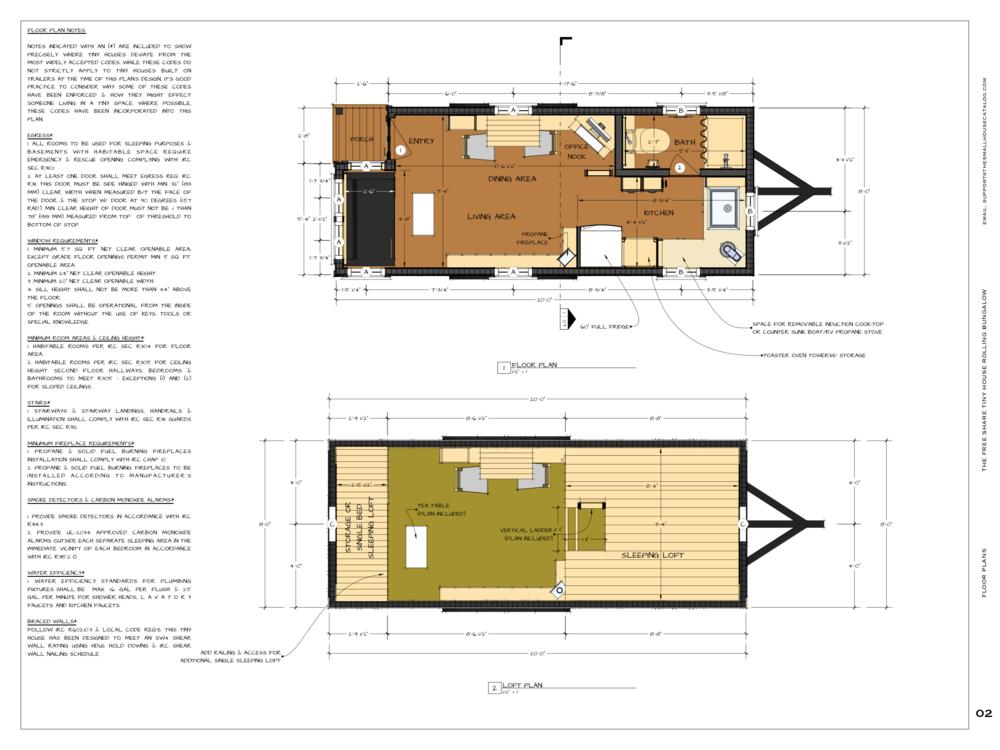 Tiny House Plan Moschata Small