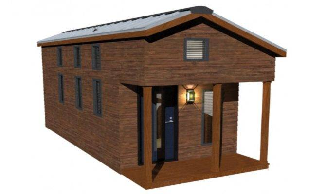 Tiny House Plans Loft Building Floor