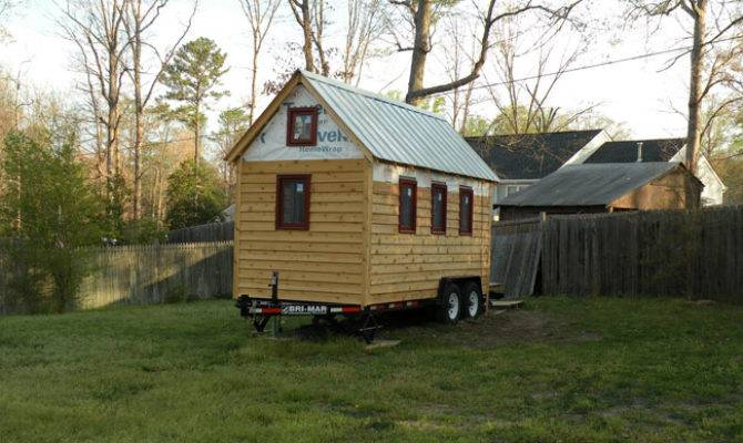 Tiny House Plans Wheels Home