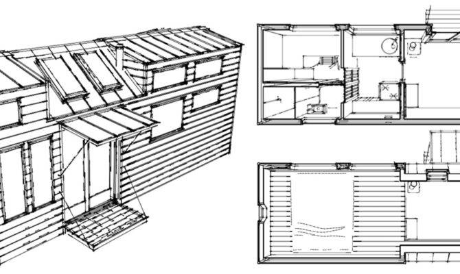 Tiny House Plans Wheels Unpublished