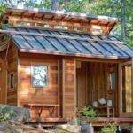 Tiny House Shelters Cheap Mountainous Woods