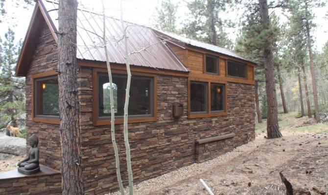 Tiny House Town Simblissity Stone Cottage